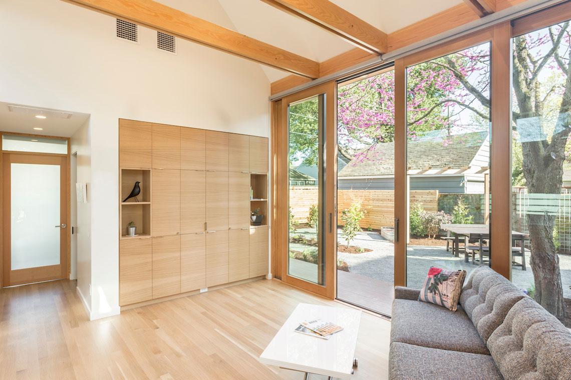minimalist accessory dwelling unit for retirement